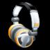 headphones, mic, music icon