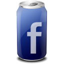 cups, facebook icon