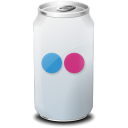drink, flickr, web20 icon