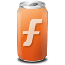 drink, furl, web20 icon
