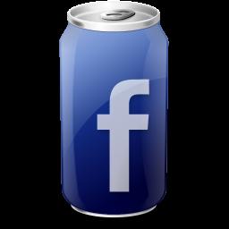 cups, facebook icon