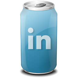 drink, linkedin, web20 icon