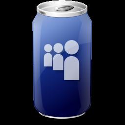 drink, myspace, web20 icon