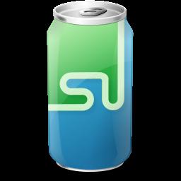 drink, stumbleupon, web20 icon
