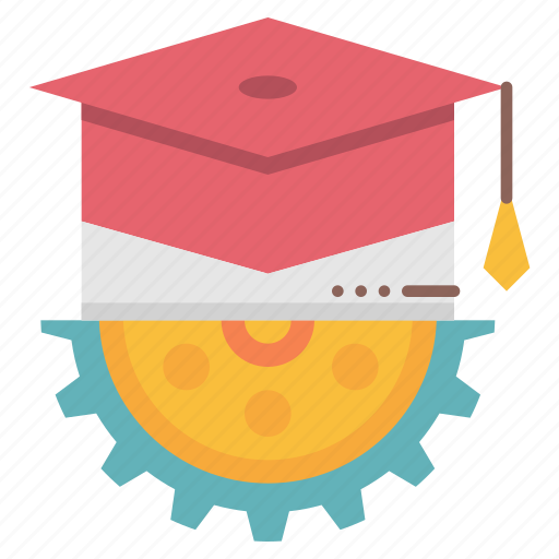 college, degree, educational, system, university icon