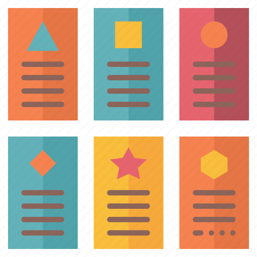 card, flash, learning, memory, remember, study, technique icon