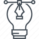 creativity, design, electric, graphics, idea, innovation, lamp icon
