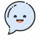 bubble, chat, message, speak, speech, talk, text icon