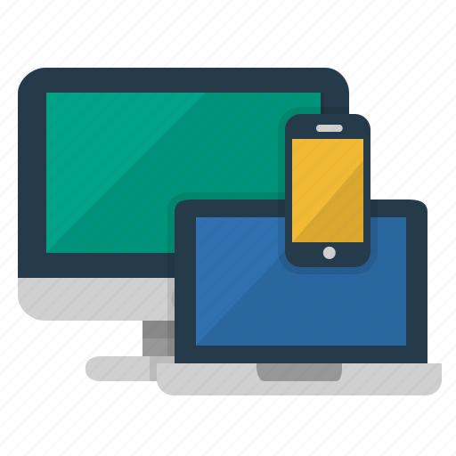 computer, devices, laptop, mobile, monitor, pc, screen, technology icon