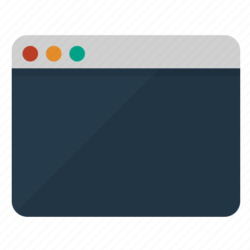 application, browser, page, view, web, window icon