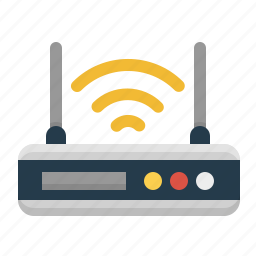 antenna, router, signal, technology, wifi, wireless icon