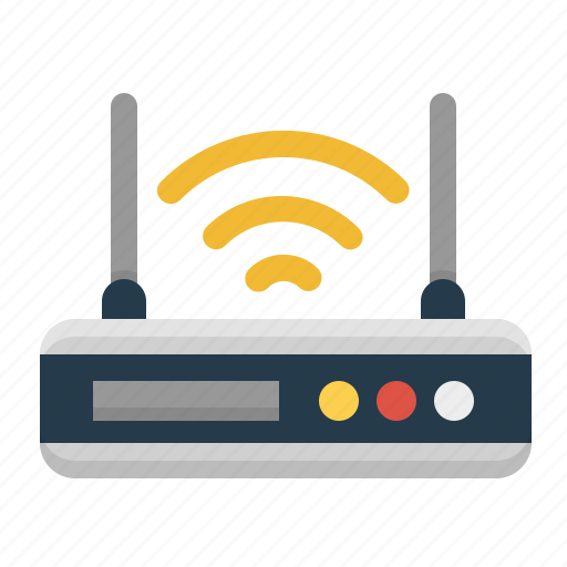 Antenna, router, signal, technology, wifi, wireless icon ...