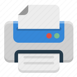 device, print, printer, printing icon