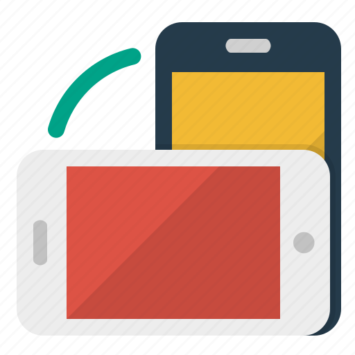 devices, mobile, screen, technology, telephone icon
