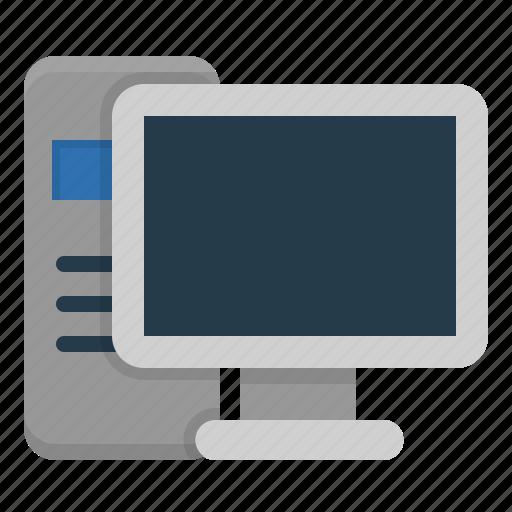 monitor, pc, personal computer, screen icon