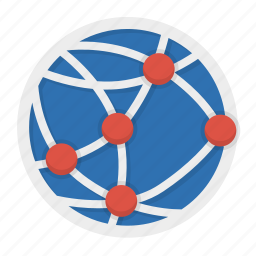 connection, internet, intranet, network, social, web icon