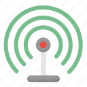 internet, network, radio, signal, wifi, wireless icon