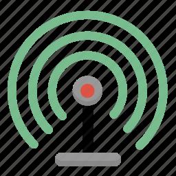 internet, network, radio, signal, wifi, wireless icon