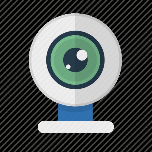 camera, device, technology, video, web camera icon