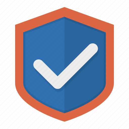 checkmark, protected, secure, trusted icon