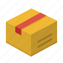 box, bundle, shipment, shipping icon