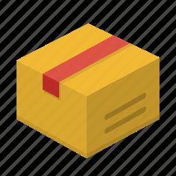 box, bundle, shipment, shipping icon