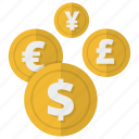 cash, money, money conversion, payment icon
