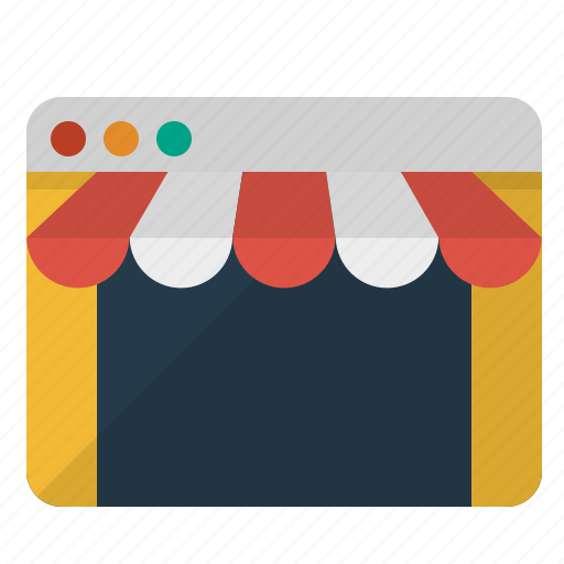 online, shop, shopping, store icon
