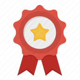 certified, quality, top seller icon