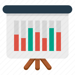 analytics, sales, sales report, statistics icon