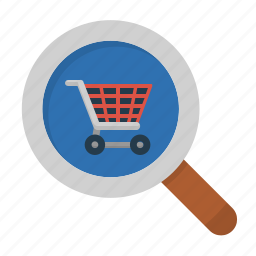 find, search, shop, store icon