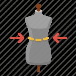 dimentions, measurement, proportions, sizes icon