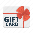 gift, gift card, present, shopping card