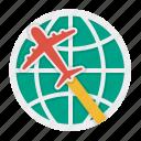 international, par avion, shipping, shipment