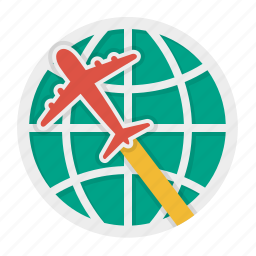 international, par avion, shipment, shipping icon