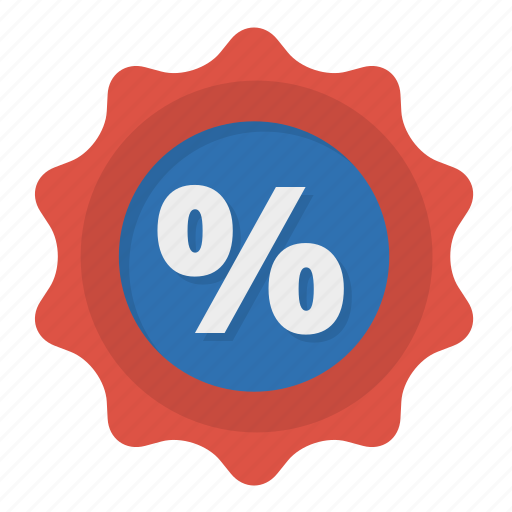 badge, percentage, promotion, sale icon