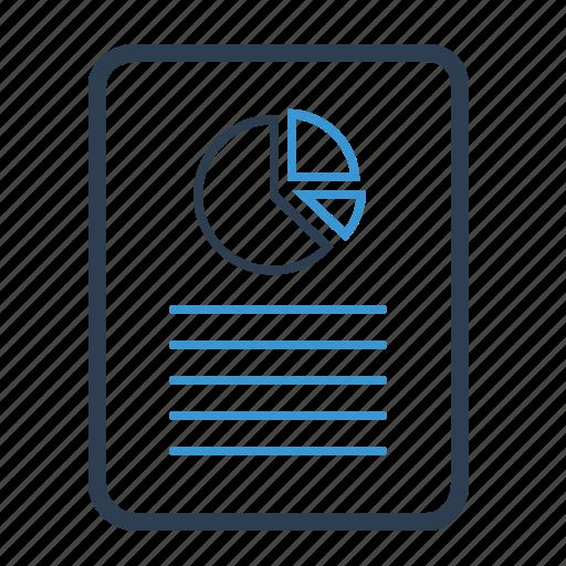 analytics, file, report icon