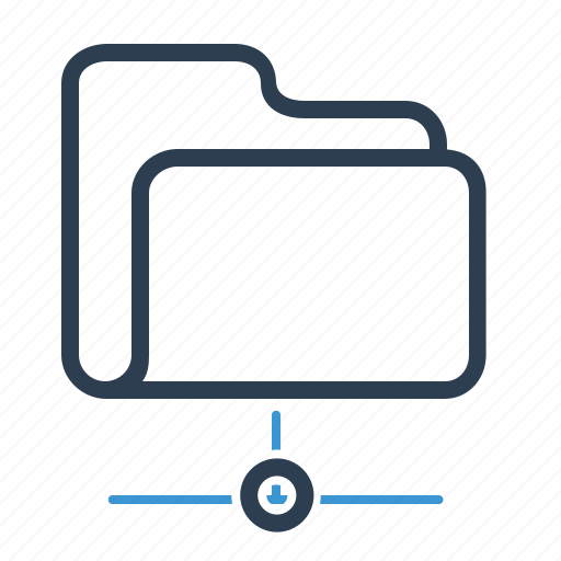 folder, share, sharing icon