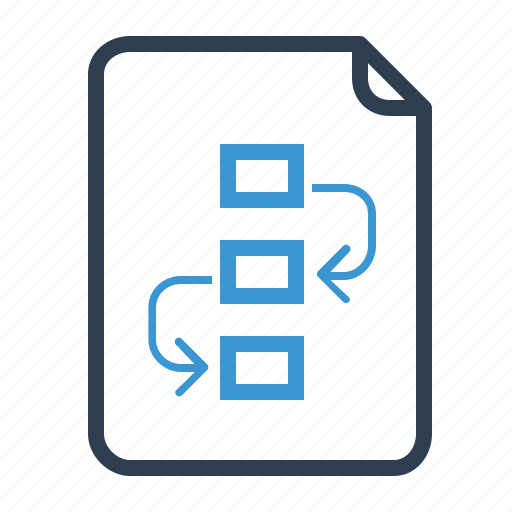 document, page, plan, project, workflow icon