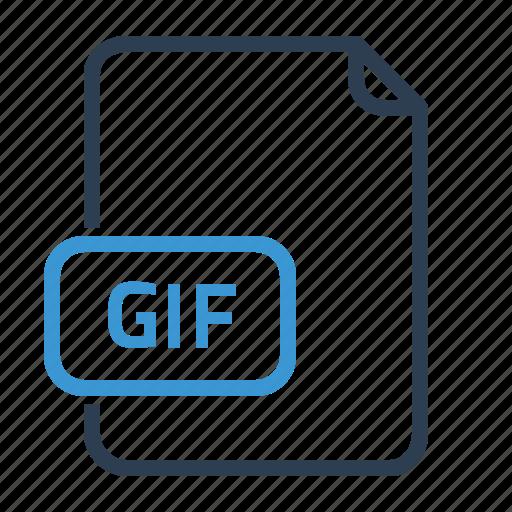 file, gif, image icon