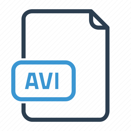avi, file, video icon