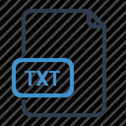 file, txt icon