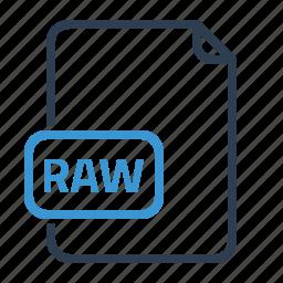 file, image, raw icon
