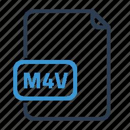 file, m4v icon