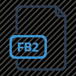 fb2, file icon