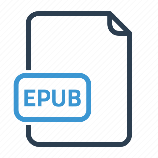 epub, file icon