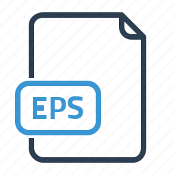 eps, file, vector format icon
