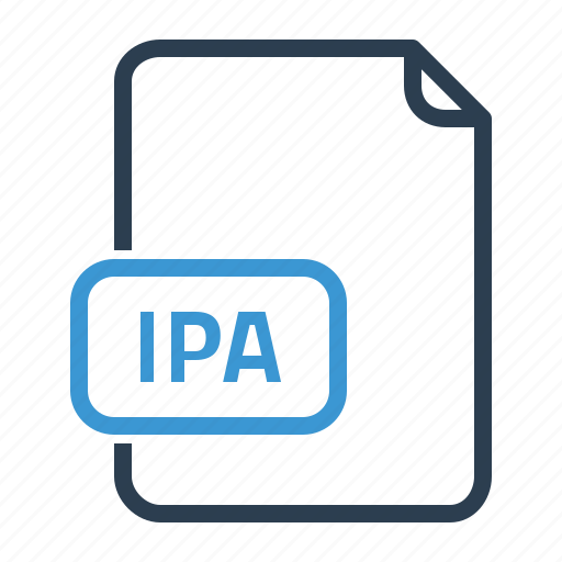 file, ios, ipa icon