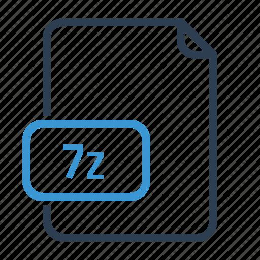 7z, file, zip icon