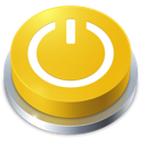 button, perspective, standby icon